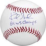 """Kirk Gibson Los Angeles Dodgers Autographed Baseball with """"1984 WS Champs"""" Inscription - Fanatics Authentic Certified"""