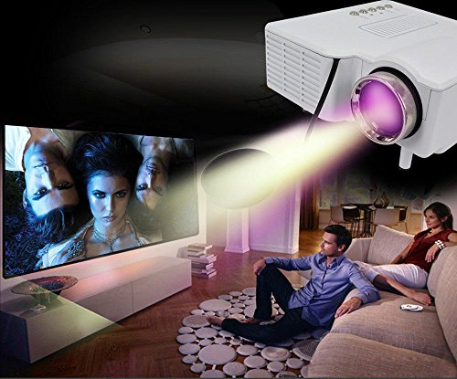 Home Theater Multimedia LCD Projector EBEST-HDMI DVD Playstation HDIM VGA USB AV by Unknown