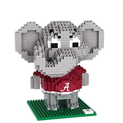 Alabama Crimson Tide NCAA BRXLZ 3D Building Blocks Set Mascot