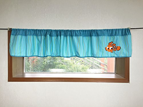 Baby Ocean Nemo Crib Bedding Window Valance