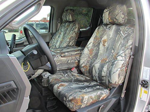 Grey Camouflage Waterproof Van Seat Covers 2 x Fronts Mercedes Vito