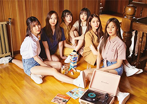 Fanstown Kpop G-Friend Parallel Poster A3 Size Thicken Coated Paper (A01)