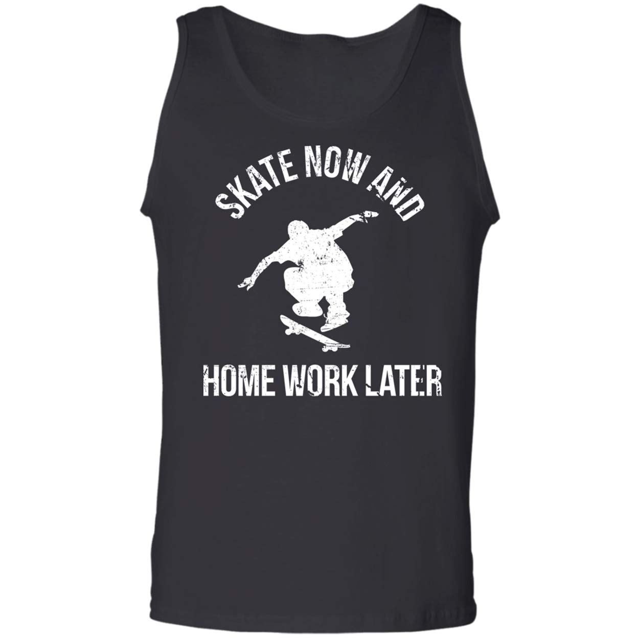 Skate Now Homework Later,Skating Lovers F Tank Top