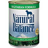 Natural Balance Ultra Premium Canned Dog Food, Veg...