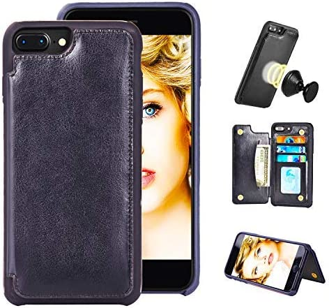 iPhone MISSCASE Leather Magnetic Closure