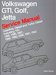 This new service manual is the only source of comprehensive and up to date maintenance and repair information for all models of the Volkswagen GTI, Golf and Jetta models from 1985 through 1992. Volkswagen has sold more than 860,000 of these p...