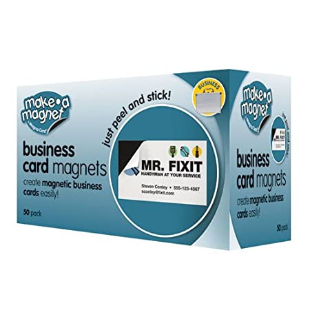 Amazon.com : MagnaCard Magnetic Business Cards, 3.5 x 2 x 4.3 ...