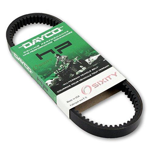 2001-2005 for Polaris Sportsman 400 Drive Belt Dayco HP W/O EBS ATV OEM Upgrade Replacement Transmission Belts ()