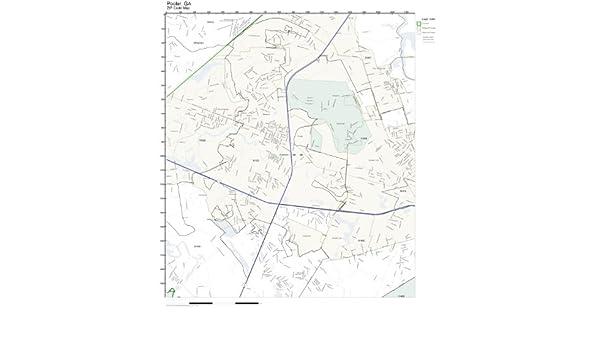 Pooler Ga Zip Code Map.Amazon Com Zip Code Wall Map Of Pooler Ga Zip Code Map Laminated