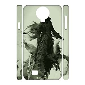 ZOEHOME Phone Case Of darkness boy god and Zeus,Hard Case !Slim and Light weight and won't fade, Scratch proof and Water proof.Compatible with All Carriers Allows access to all buttons and ports. for Samsung Galaxy S4 I9500