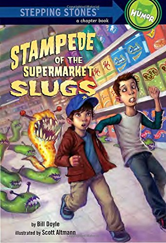 Stampede of the Supermarket Slugs (A Stepping Stone Book(TM))
