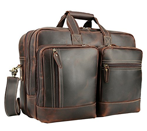 ather 16.5'' Expandable Business Briefcase Laptop Travel Bag ()