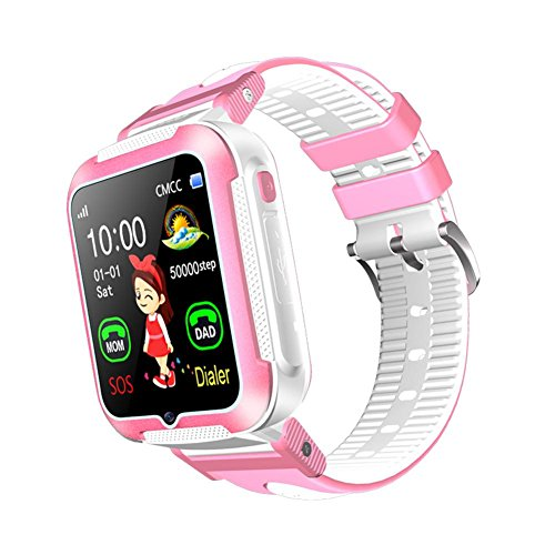 Ronda Children Smart Watch AGPS LBS Location Waterproof Touch Screen Baby Wristwatch for iOS Android by Ronda