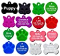 Pet ID Tag Dog and Cat Personalized | Many Shapes and Colors to Choose From! | Strong Anodized Aluminum