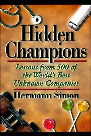 Hidden Champions Hermann Simon Ebook