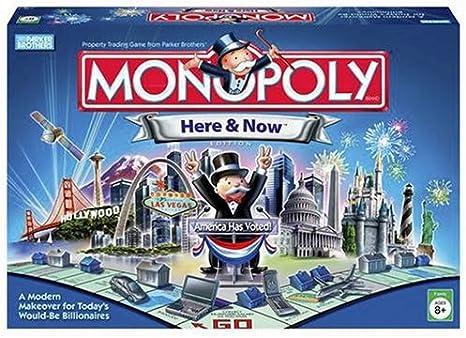 Monopoly: Here and Now Edition: Amazon.es: Juguetes y juegos