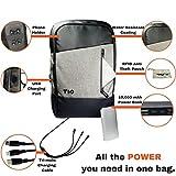 Best Portable & Gadgets Laptop Backpacks - Laptop Backpack + USB Power Bank | 10000mah Review