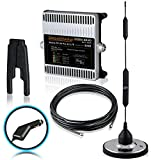 Smoothtalker RV X6 Pro 50dB 4G LTE Extreme Power 6 Band RV/Motorhome Cellular Signal Booster Kit - With 12 Volt plug-in pwr supply