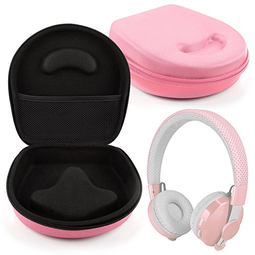 DURAGADGET Hard 'Shell' EVA Headphone Case (Pink) - Suitable for LilGadgets Untangled Pro|Connect+ Children's Wireless Bluetooth Headphones
