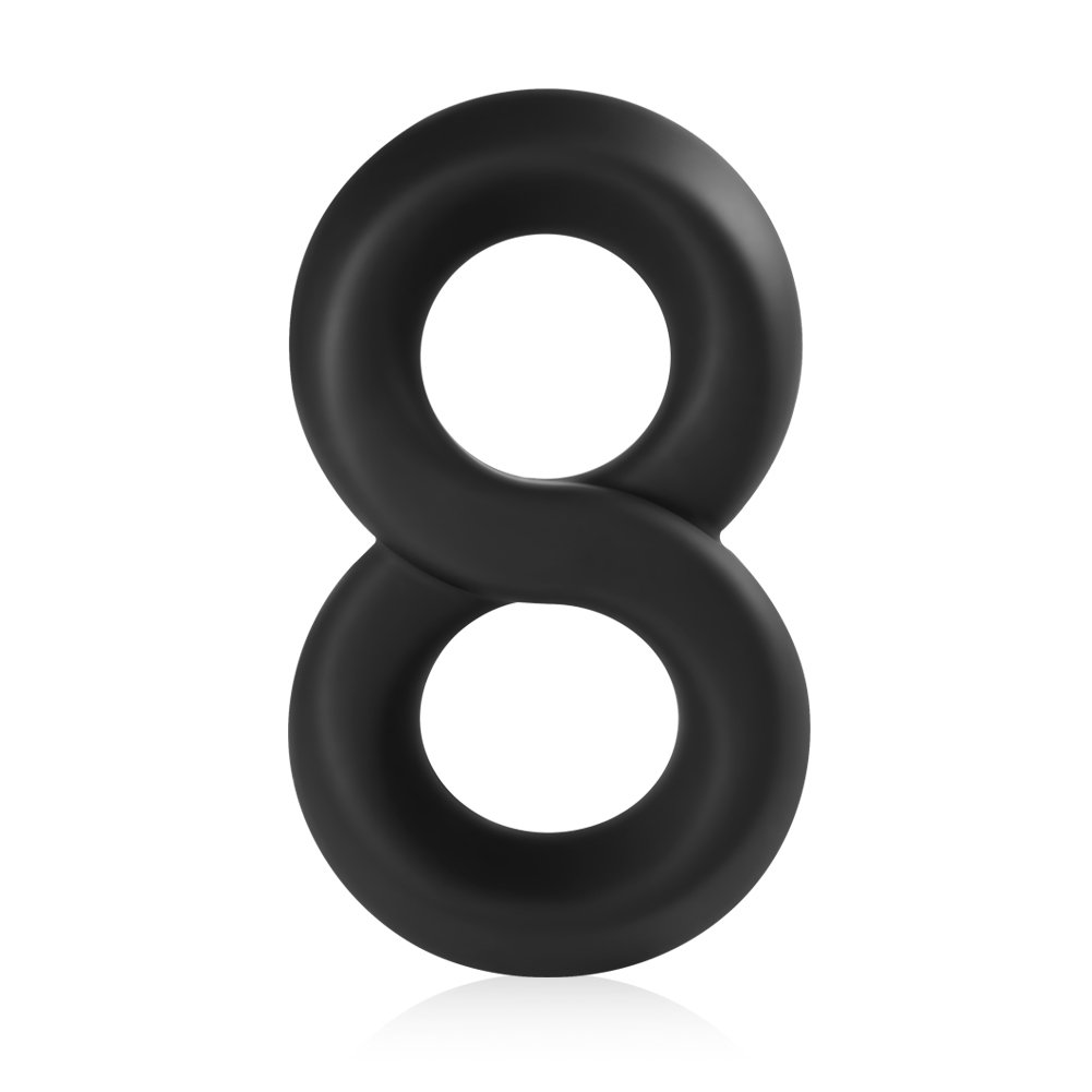 Amazon.com: Utimi Stretchy Cock Ring Silicone Love Rings Basic Penis Rings,  Black: Health & Personal Care
