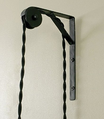 Wall Mount Pulley for Pendant L&s 2 Pack & Amazon.com : Wall Mount Pulley for Pendant Lamps 2 Pack : Garden ...