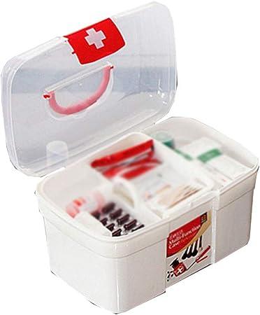 Botiquín TZSMYX Caja de almacenamiento portátil de la caja de ...