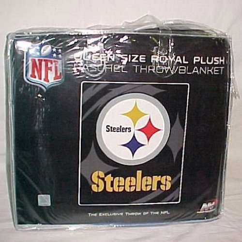 Nfl Pittsburg Steelers Queen Size Súper felpa Mink Blanket