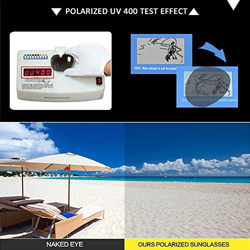 Polarizado KINDOYO de Protección sol UV Steampunk gafas Metal Gris Moda Gafas Unisex Plateado 400 Sobredimensionado Comba de nHHgYrBq