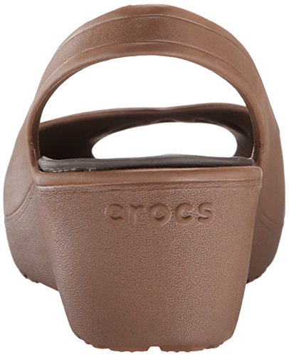 EUR 5 Bronze Femmes 42 Mini Wedge Mabyn Crocs Ynqva8RR