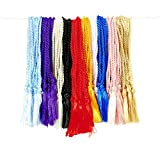 100 FLOSS BOOKMARK TASSELS - CLASSIC ASSORTMENT