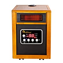 ​Dr Infrared Heater Portable Space Heater with Humidifier, 1500-Watt