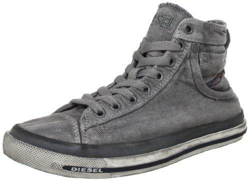 Diesel MAGNETE EXPOSURE IV W Y00638PS752 Damen Sneaker Grau (Gunmetal T8080)