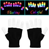Kid Toys for Boys and Girls, Flashing LED Gloves, Amazing Christmas Gift for Children