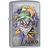 Zippo Lighter: Joker with Hat - Street Chrome 78282