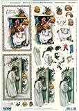 Ecstasy Crafts Reddy Pre Cut -Victorian Christmas