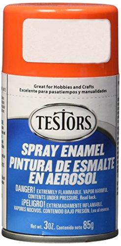 Testors TENAMEL-1628 Aerosol Enamel Paint 3oz-Orange ()