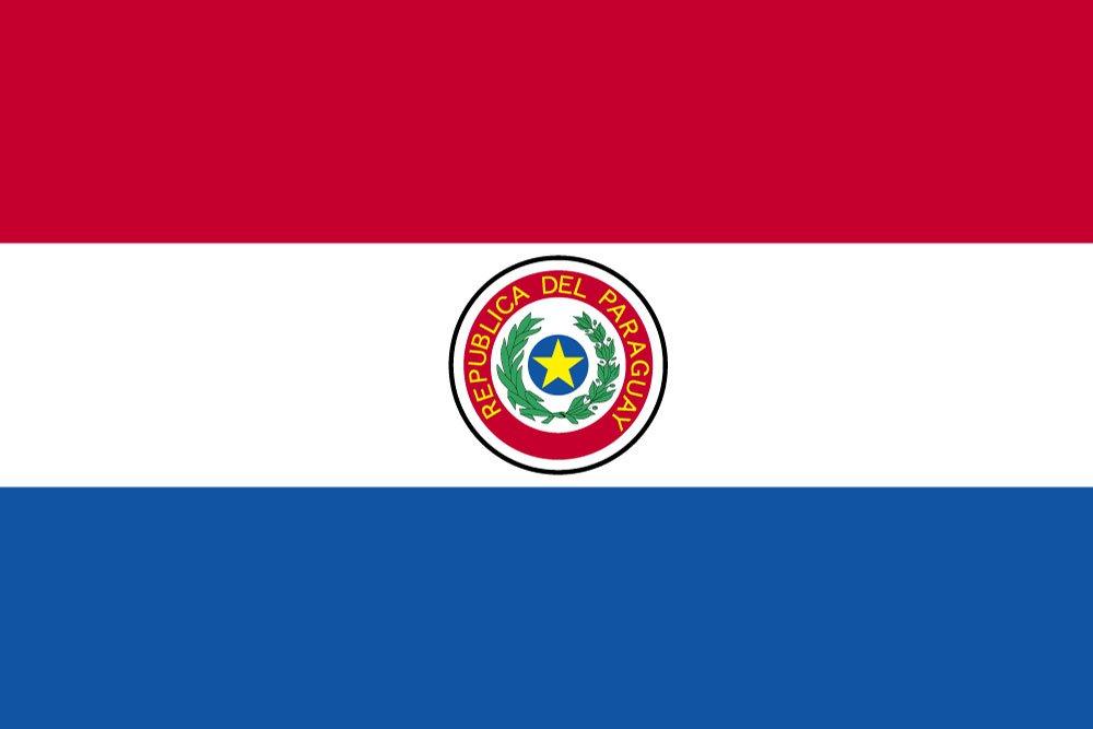 世界の国旗 パラグアイ 国旗 [120×180cm 高級テトロン製]   B0091006HW