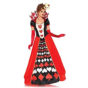 Leg Avenue Women's Wonderland Queen of Hearts Halloween Costume