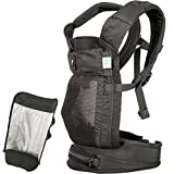 Blooming Baby AirPod Baby Carrier, Black with Insert