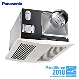 Panasonic FV-11VHL2 WhisperWarm 110 CFM Ceiling Mounted Fan/Heat/Light-Night-Light Combination, White