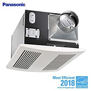 Panasonic Fv 11vh2 Whisper Warm 110 Cfm Ceiling Mounted