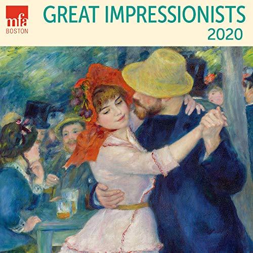 2020 Christmas Paintings - MFA Great Impressionists Van Gogh Monet Degas Renoir Mini Wall 2020 Monthly January-December 7