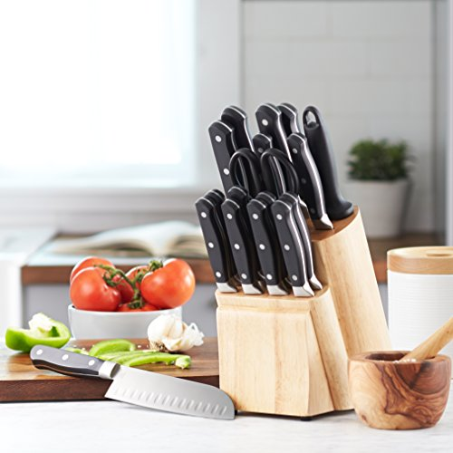 AmazonBasics Premium 18-Piece Knife Block Set Review 4