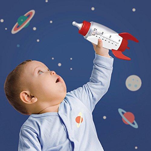 Cohete Baby Botella/Rocket Baby Bottle Capacidad 275 ml, estampado: Amazon.es: Bebé