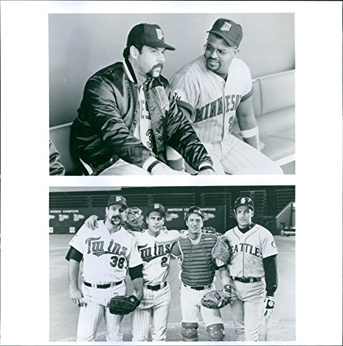 Vintage photo of Movie: Little Big League starring Brad