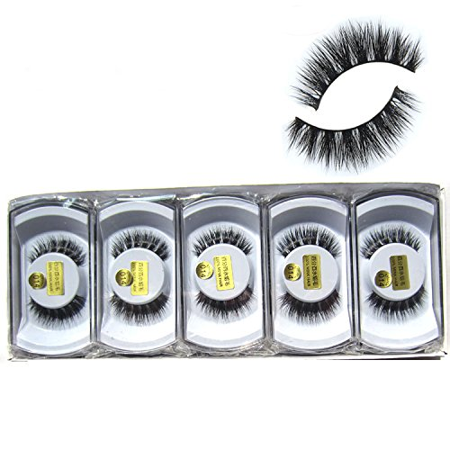 (Wholesale 10 boxes/lot 100% Real Mink Hair Messy Cross False Eyelashes 3D Wispy Fake Eye Lashes MY-014)