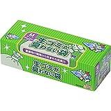 驚異の防臭袋 BOS (ボス) 生ゴミが臭わない袋 生ゴミ処理袋【袋カラー:白】 (Mサイズ 90枚入)