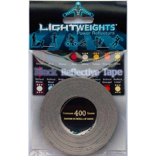 Lightweights Stealth Reflective Tape Black 400