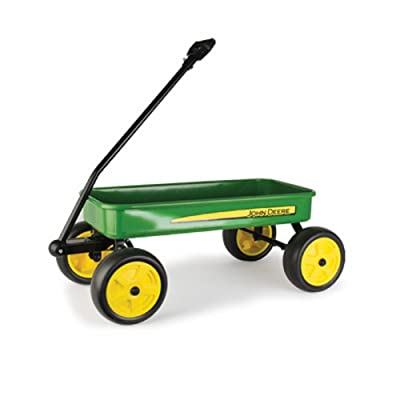 "John Deere 28"" Steel Wagon: Toys & Games"