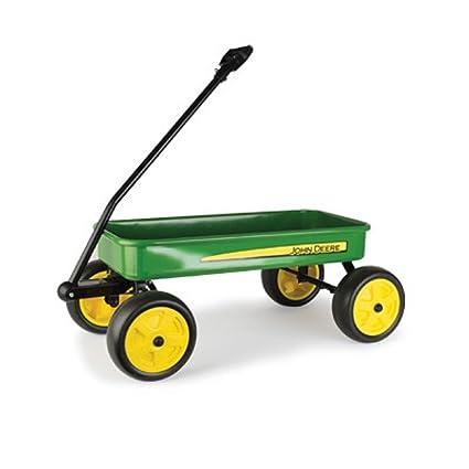 Amazon.com: john deere Green Wagon de acero de 28 inch: Toys ...
